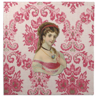 The Lady Printed Napkins
