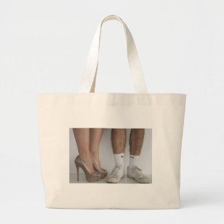 The Lady & The Tramp Large Tote Bag