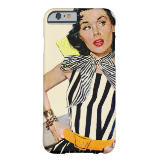 The Lady Was Insulted Barely There iPhone 6 Case