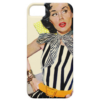 The Lady Was Insulted iPhone 5 Case