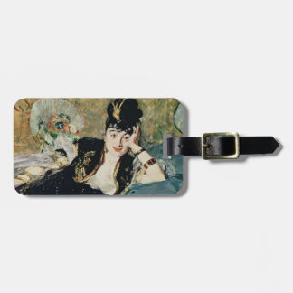 The Lady with Fans Bag Tag