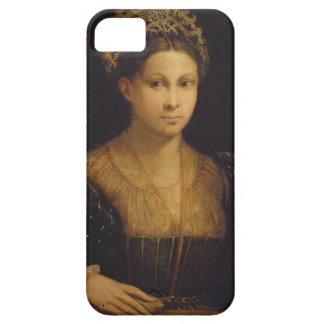 The Lady with the Green Turban iPhone SE/5/5s Case