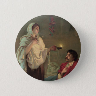 The Lady with the Lamp (Florence Nightingale) Pinback Button