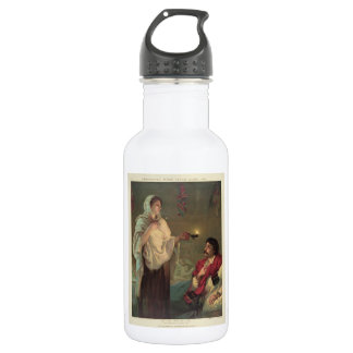 The Lady with the Lamp (Florence Nightingale) Stainless Steel Water Bottle