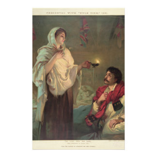 The Lady with the Lamp (Florence Nightingale) Stationery