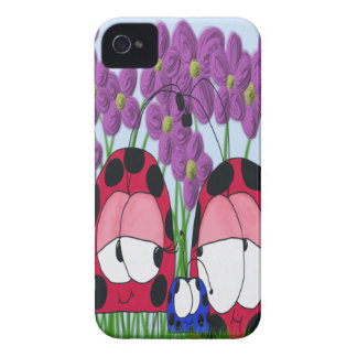 The Ladybug Family ~ iPhone 4 Covers
