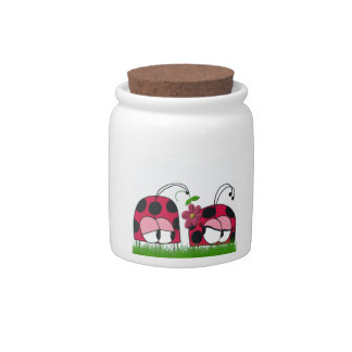 The Ladybug Wooing His New Love ~ Candy Jar