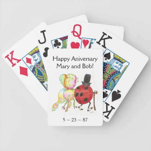 The Lady's Bug cards Card Deck