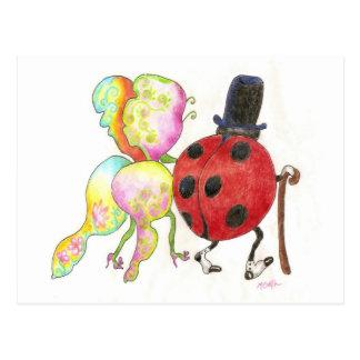 The Lady's Bug postcard