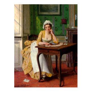 The Lady's Maid - Caraud Postcard