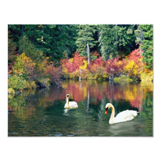 The Lagoon 4.25x5.5 Paper Invitation Card