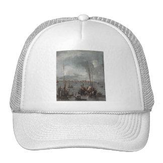 'The Lagoon Looking Toward Murano' Hats