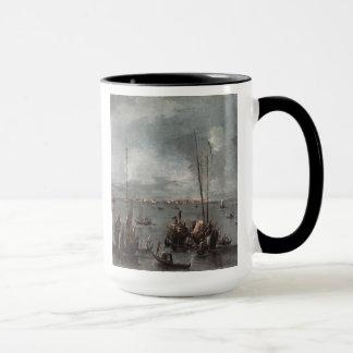'The Lagoon Looking Toward Murano' Mug