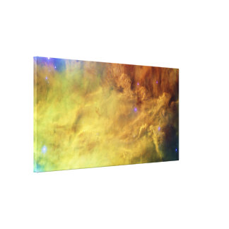 The Lagoon Nebula Messier 8 M8 NGC 6523 Canvas Print