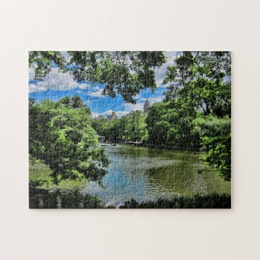 The Lake at Central Park, NYC Puzzle