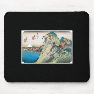 The Lake at Hakone, Japan circa 1831- 1834 Mouse Pad