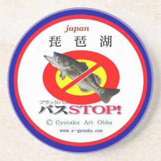 The Lake Biwa black bus STOP! JAPAN environmental  Coaster