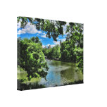 The Lake, Central Park NYC Wrapped Canvas Gallery Wrap Canvas