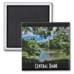 The Lake, Central Park Refrigerator Magnet