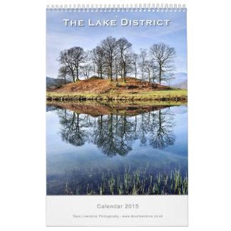 The Lake District, Cumbria -  2015 Calendar