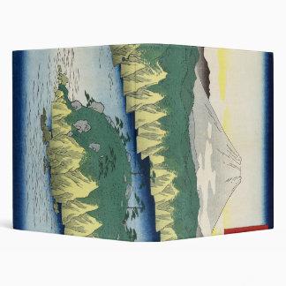 The Lake in Hakone 3 Ring Binder