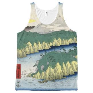 The Lake in Hakone All-Over Print Tank Top