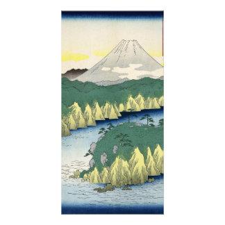 The Lake in Hakone Card