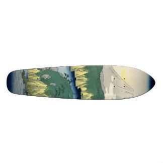The Lake in Hakone Skateboard
