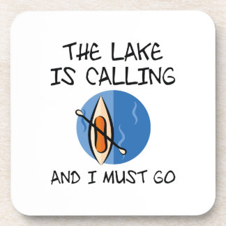 The Lake Is Calling Beverage Coaster
