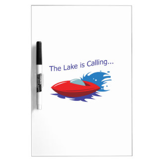 THE LAKE IS CALLING Dry-Erase WHITEBOARDS