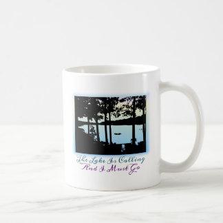 The Lake is Calling I Must Go Coffee Mug