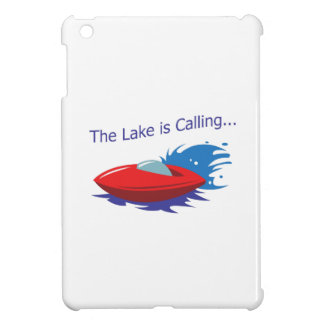 THE LAKE IS CALLING iPad MINI CASES