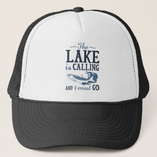 The Lake Is Calling Trucker Hat