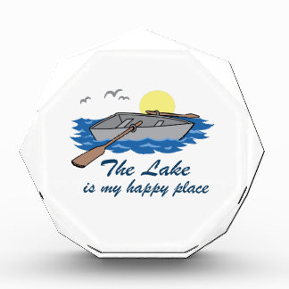 The Lake Is My Happy Place Acrylic Award