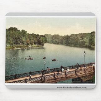 The lake, north side, Konigsberg, East Prussia, Ge Mouse Pad