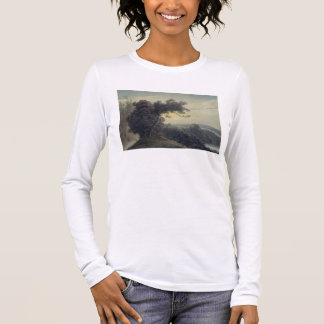 The Lake of Albano and Castle Gandolfo, c.1783-85 Long Sleeve T-Shirt