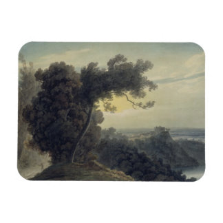 The Lake of Albano and Castle Gandolfo, c.1783-85 Magnet