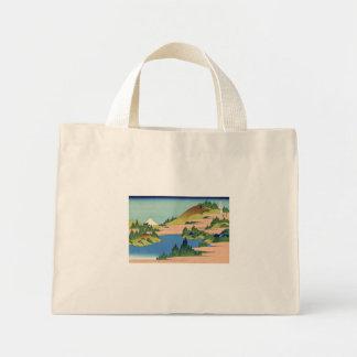 The Lake of Hakone in Sagami Province Tote Bags