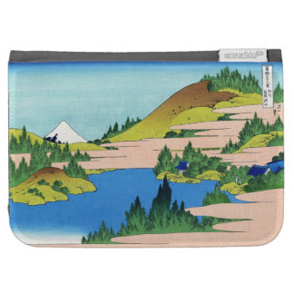 The lake of Hakone in the Segami province Hokusai Case For Kindle