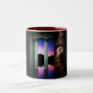 The Lake of Life Two-Tone Coffee Mug