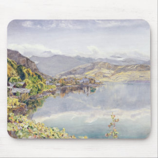 The Lake of Lucerne, Mount Pilatus in the Distance Mouse Pad