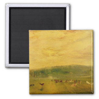 The Lake, Petworth: Sunset, Fighting Bucks Magnet