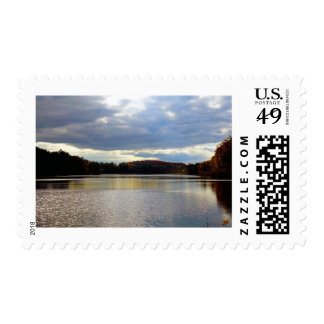 """""""The Lake"""" Postage Stamps"""
