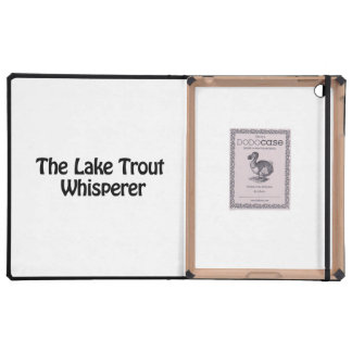 the lake trout whisperer cases for iPad