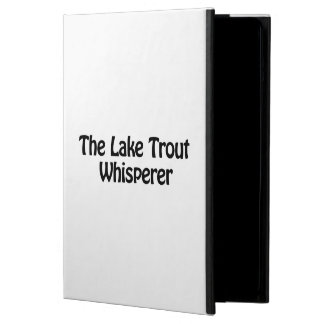 the lake trout whisperer cover for iPad air