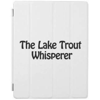 the lake trout whisperer iPad cover