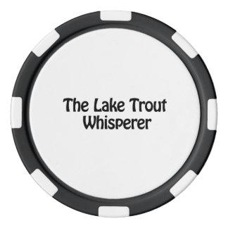 the lake trout whisperer poker chips