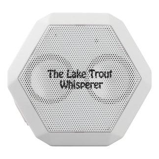 the lake trout whisperer white boombot rex bluetooth speaker