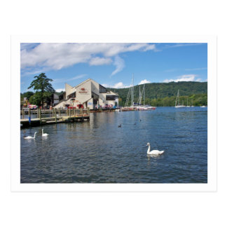 the lakes post card