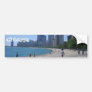 The Lakeshore, Chicago, IL, Chicago, Photo by A... Bumper Sticker
